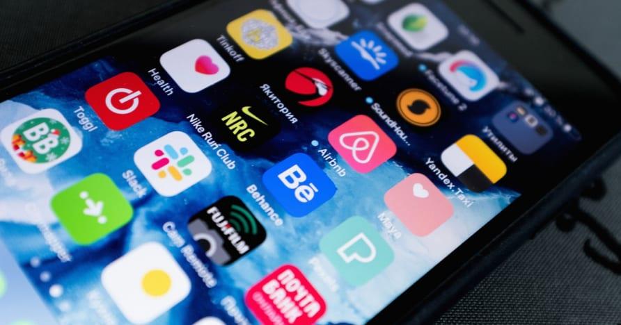 Escolha de um aplicativo de jogos de azar para celular