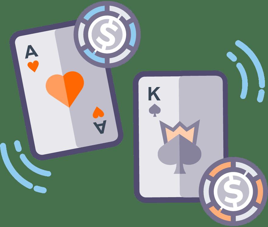 6 principais Online Casino War sites de cassino no Portugal